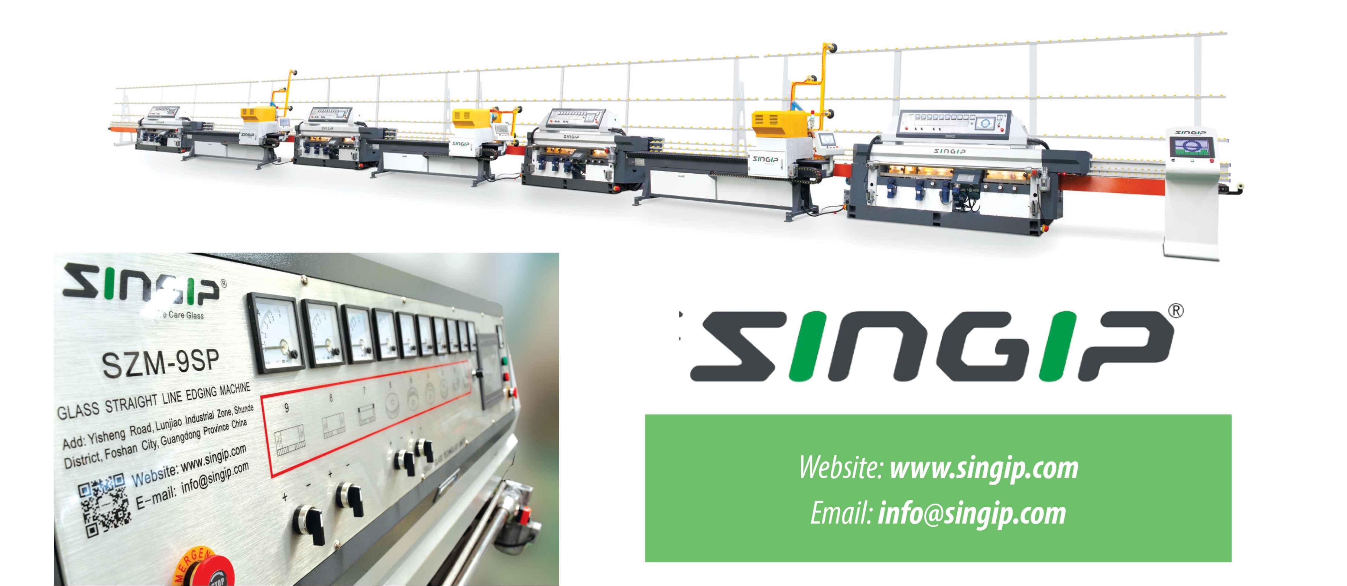 Singip's intelligent solution for edging machines