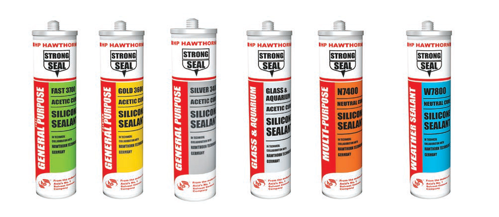 Strong seal silicone sealants from HP Adhesives