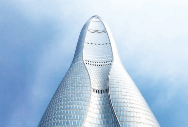 Tianjin's 7th highest glass wonder