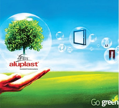aluplast committed to protecting the ecosystem