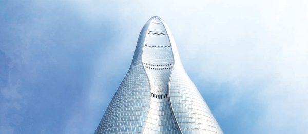 Tianjin's 7th highest glass wonder