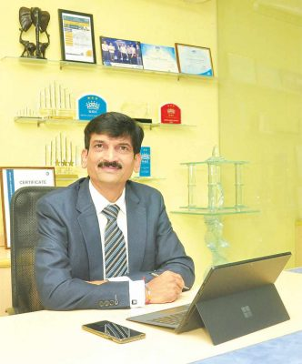 Fuso Glass MD Mr. Ashok Jain