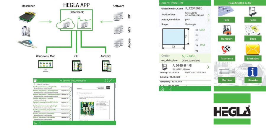 HEGLA app: Closes digitalisation gaps, improves processes