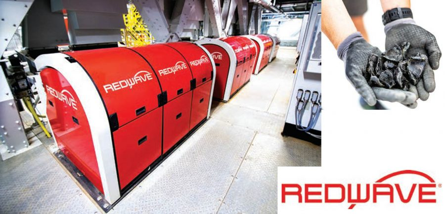 Waste glass processing: REDWAVE enhances dark glass recovery technology