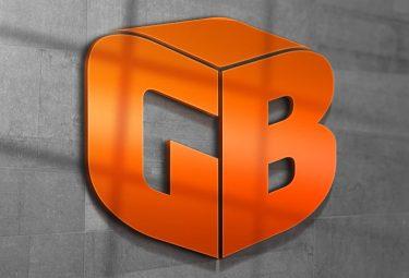 GB 3D Logo